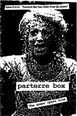 parterre box, issues 14-15
