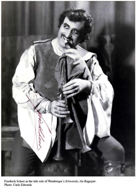 Friedrich Schorr as Schwanda der Dudelsackpfeifer