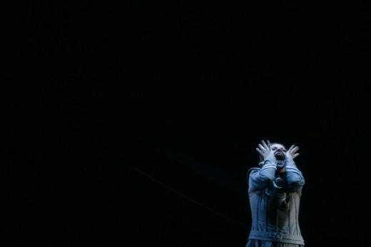 "German soprano Evelyn Herlitzius in ""Tristan und Isolde"" in Seville, 2009"