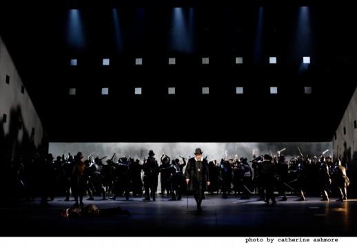 "A scene from Verdi's ""Don Carlo."" Covent Garden production photo: Catherine Ashmore"