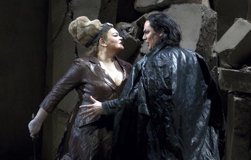 Detail of a photo by Ken Howard, Metropolitan Opera