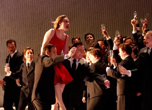 "Marina Poplavskaya as Violetta in Verdi's ""La Traviata."" De Nederlandse Opera production photo: Klaus Lefebvre"