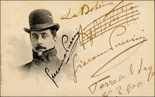 Happy birthday, Giacomo Puccini