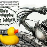 Bridge over troubled writer