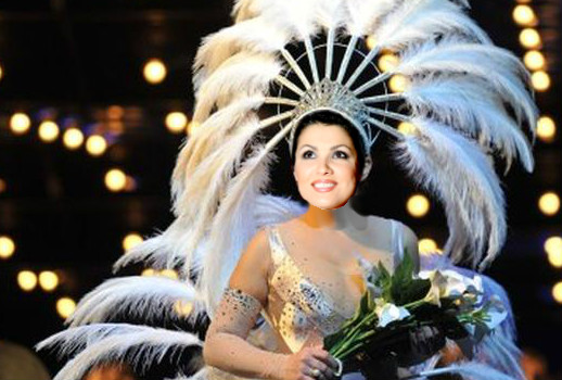 The showgirl must go on