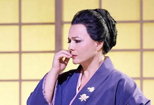 Santuzza in a kimono